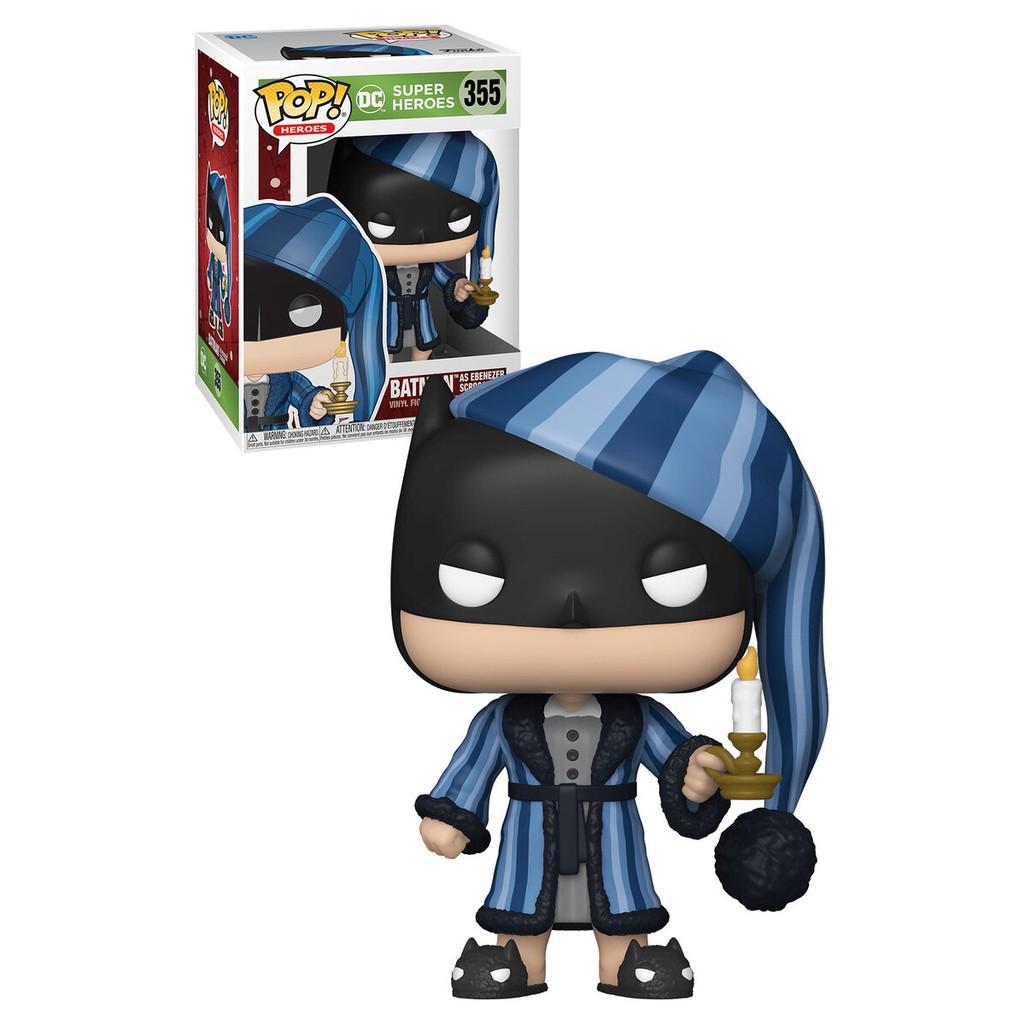 ☆勳寶玩具舖【現貨】FUNKO POP DC系列 #355 聖誕節 睡衣蝙蝠俠 BATMAN