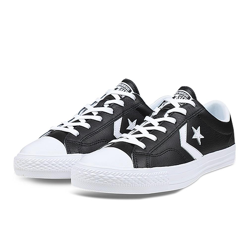 CONVERSE-STAR PLAYER OX 男女休閒鞋-黑-159780C