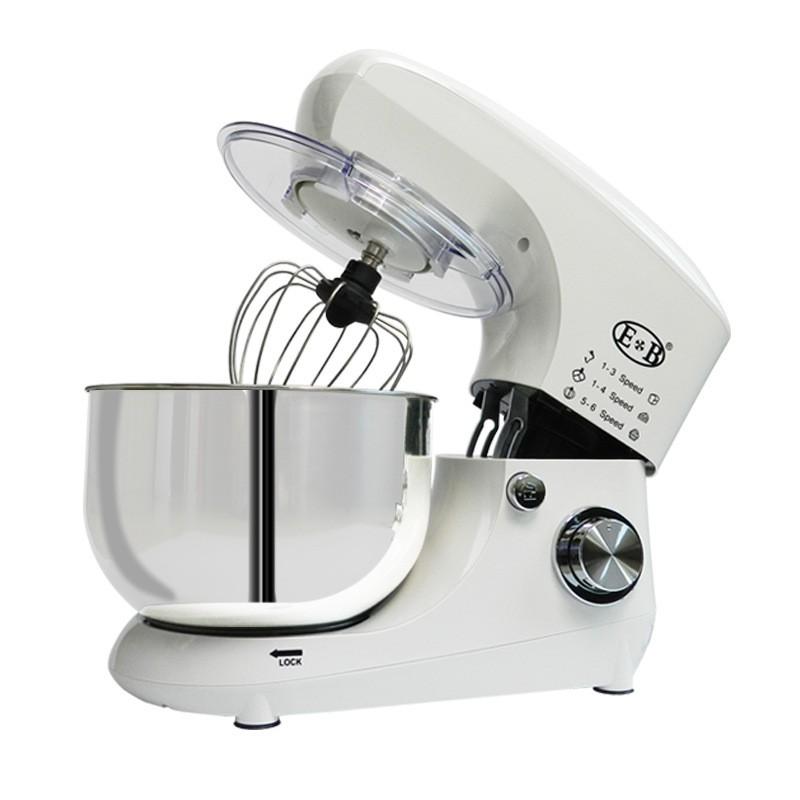 億貝斯特廚師機(EB-1702) 奶蓋機 110V 和面機 打蛋機 料理機 - 110V白色