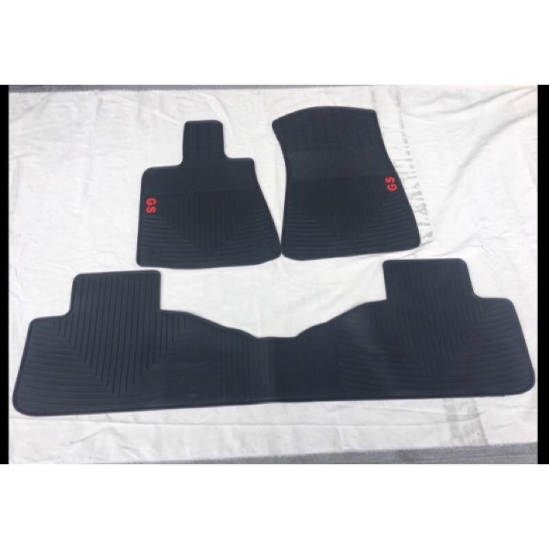 ~綠茶~ GS系列 LEXUS 凌志GS250 GS300H RX橡膠防水腳踏墊 IS橡膠腳踏墊 橡膠踏墊