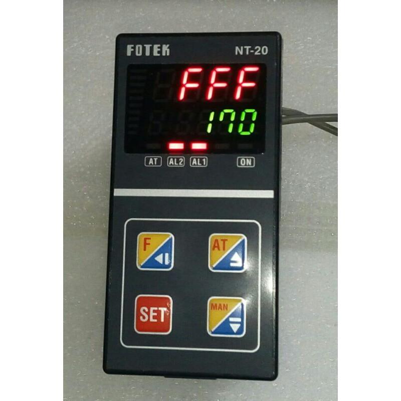 🌞台灣製 FOTEK 陽明 NT-20 溫度控制器 PID+Fuzzy智慧型溫度控制器 90~265VAC 48*96