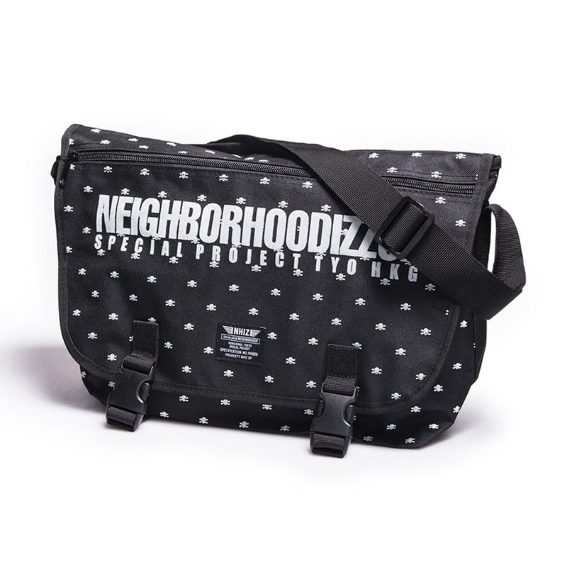 NEIGHBORHOODIZZUE 聯名款 帆布包-黑色