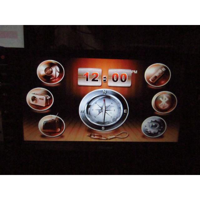 CARMAX 車美仕~7吋螢幕~DVD/衛星導航/藍牙~型號HQ-6-08.1~伸縮螢幕~