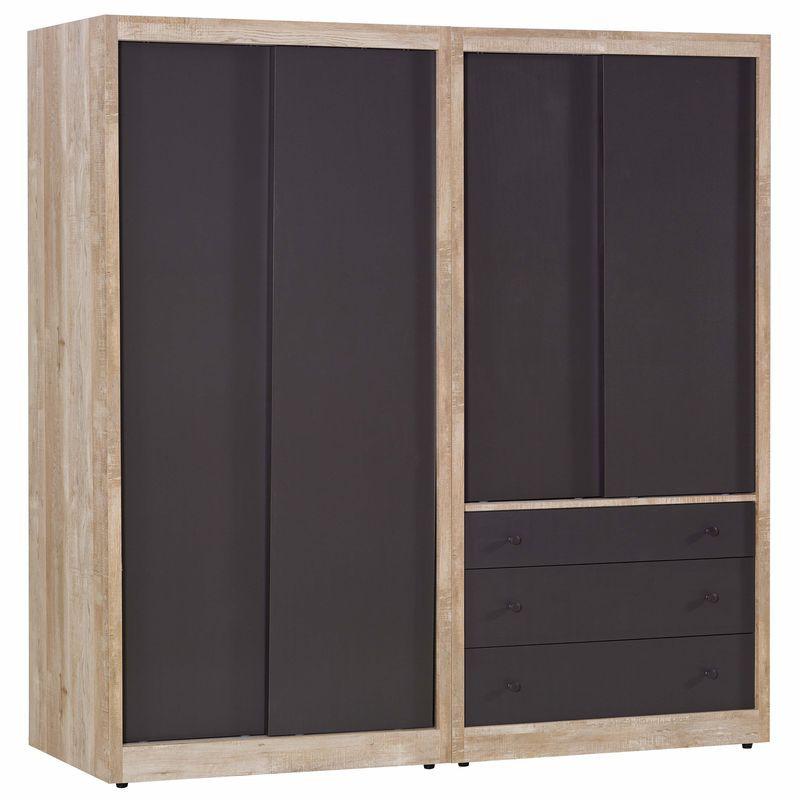 【JA17-8】天閣工業風2.7尺衣櫃(雙門)