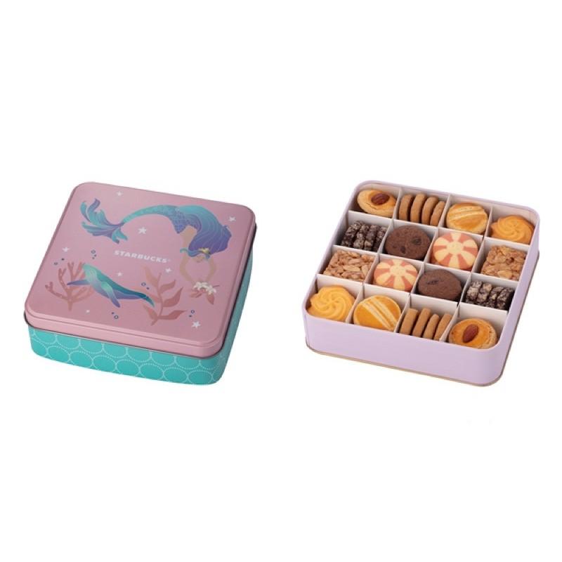 星巴克綜合餅乾禮盒 女神紀念版 綜合餅乾 手工餅乾 星巴克餅乾 女神紀念 奇美博物館 法蘭酥