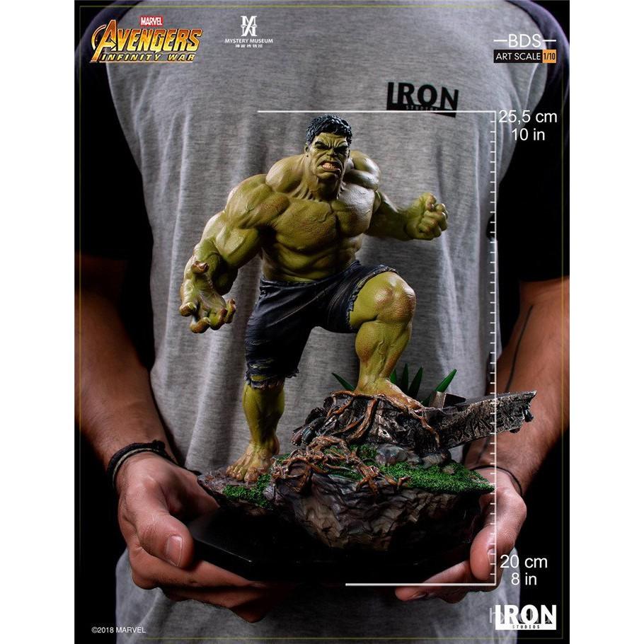 奇異博士收藏館 Iron Studios 復仇者聯盟3 綠巨人 浩克 Hulk 雕像