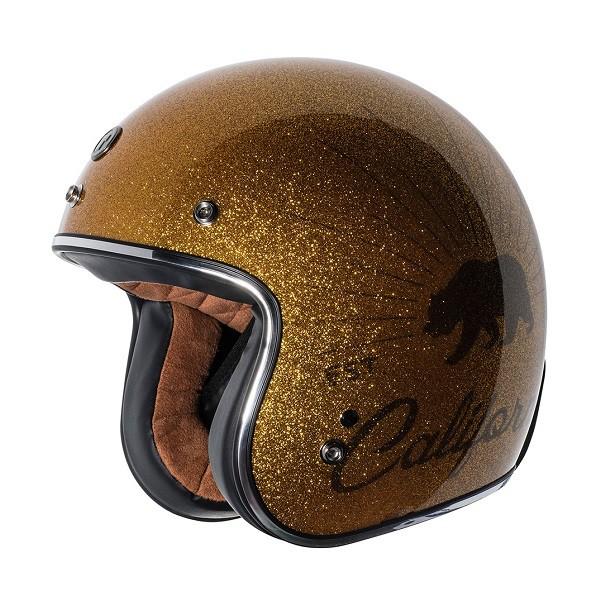 【極度風速】TORC T50 | Grizzly sparkle gold系列復古帽 金蔥 安全帽