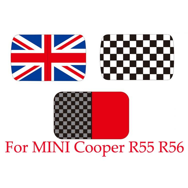 Artudatech 汽車車頂天窗裝飾創意貼適用於Mini Cooper R55 R56