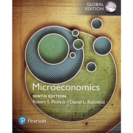 【夢書/21 Hh】Microeconomics 9/E (GE) Pindyck
