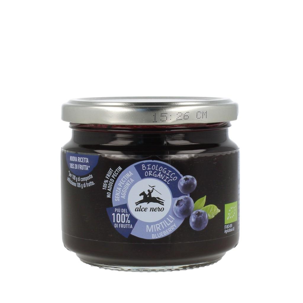 義大利 alce nero有機尼諾 有機藍莓果醬 270g