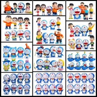 哆啦A夢 叮噹貓 Doraemon(全集)大雄一家 汽車擺件 小叮噹 野比大雄 源靜香 胖虎 小夫(配3M底膠)