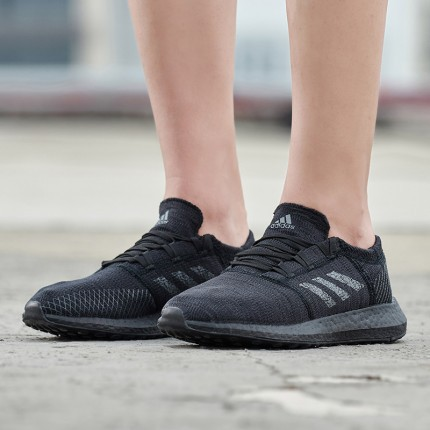 正品 Adidas  PUREBOOST GO SHOES 全黑 男款 F35786