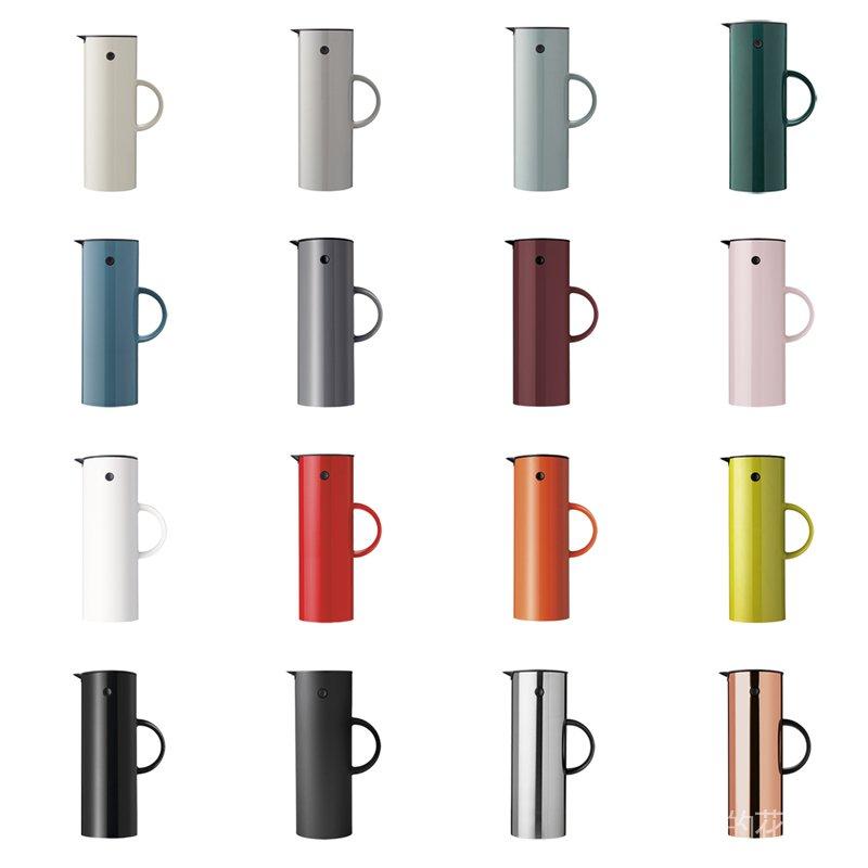#進口 代購丹麥stelton 啄木鳥保溫壺EM77經典設計時尚保溫瓶北歐熱水瓶 惠