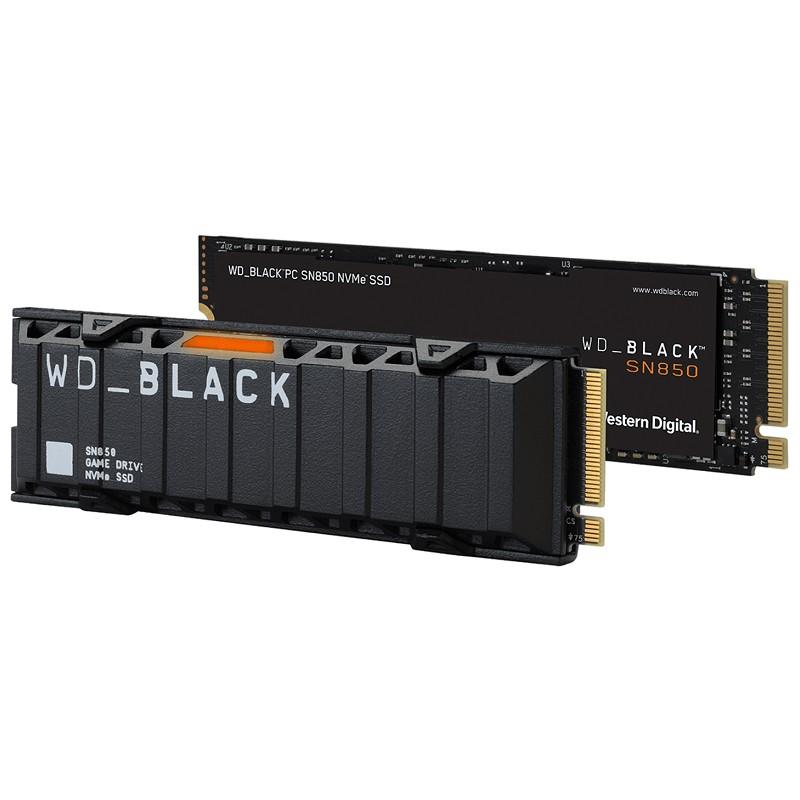 【現貨】WD 黑標 SN850 2TB 1TB 500GB M.2 2280 PCIe SSD固態硬碟 P圖 PS5適用