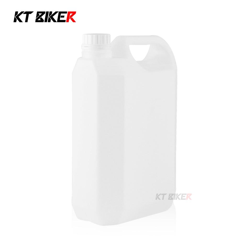 【KT BIKER】 塑膠空桶 4L HDPE 4公升 塑膠桶 2號 油桶 水桶 原料桶 汽油桶〔HPB002〕