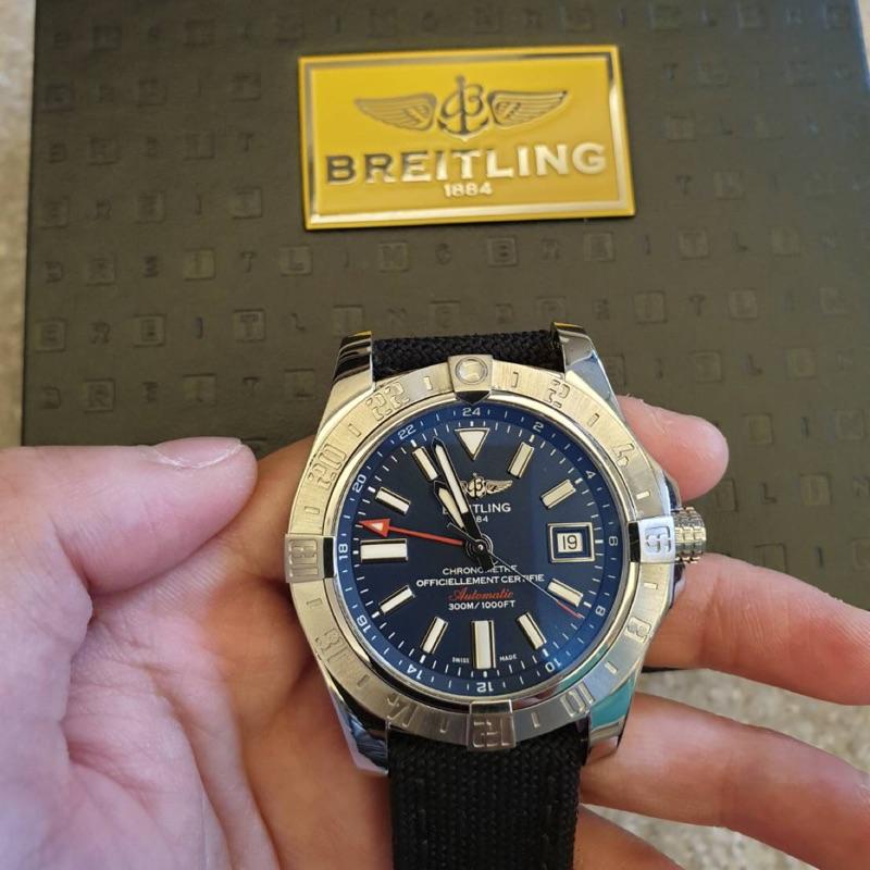 百年靈Breitling 復仇者二代 GMT兩地時間