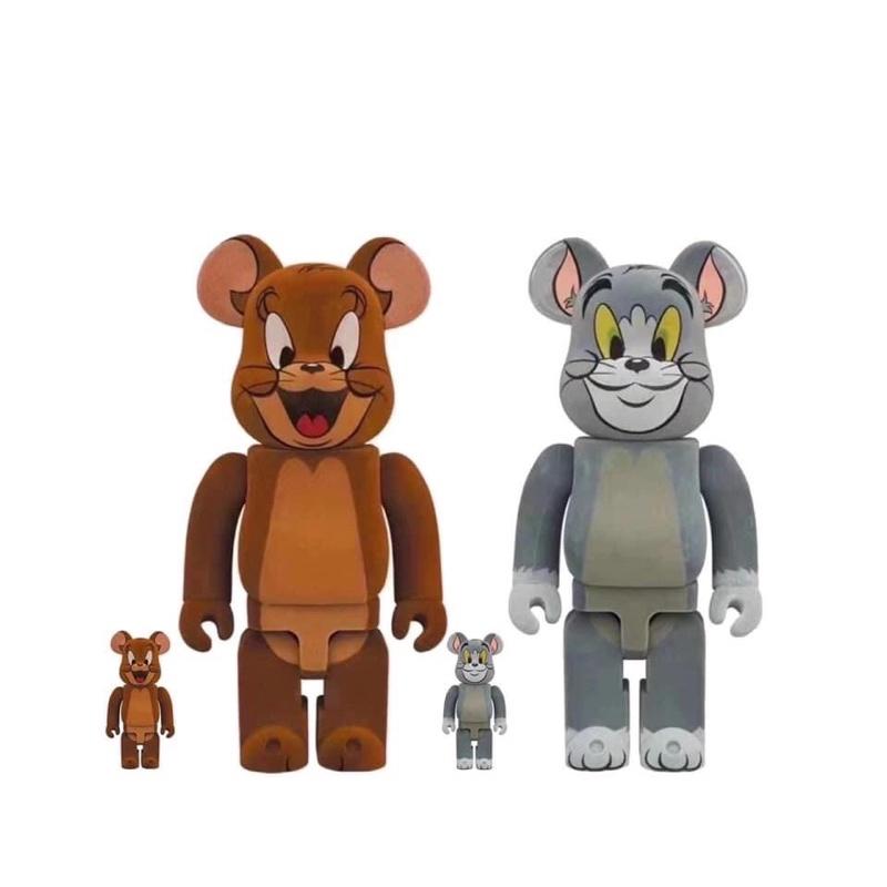 『現貨』BE@RBRICK湯姆貓與傑利鼠第二代植絨版500%