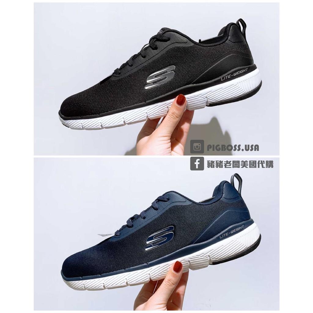 【豬豬老闆】SKECHERS FLEX ADVANTAGE 3.0 休閒 運動 男鞋 52751BLK 深藍-NVY
