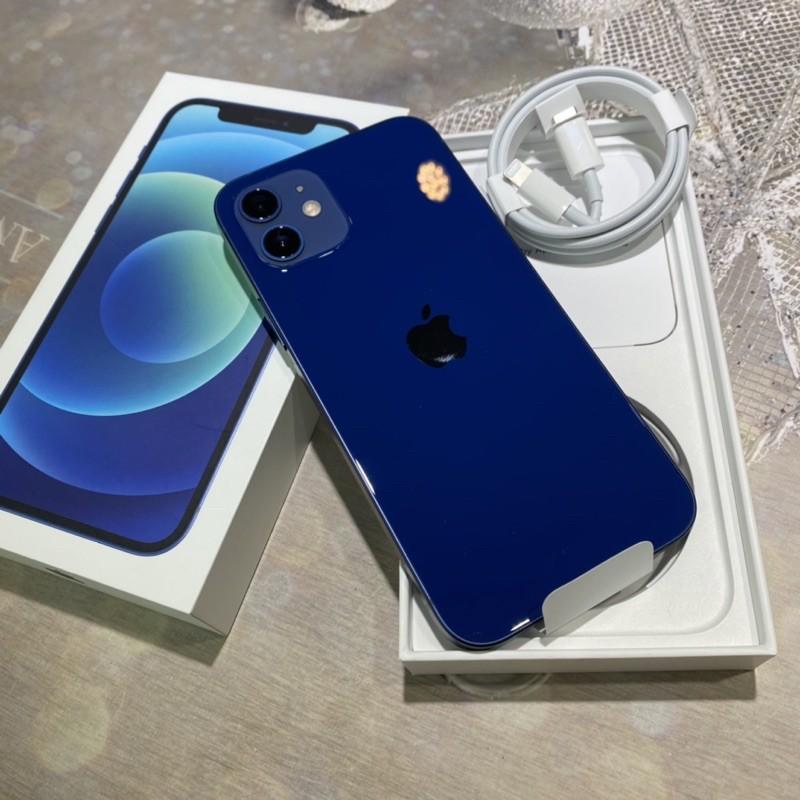iPhone 12 128g 藍色 拆封新機