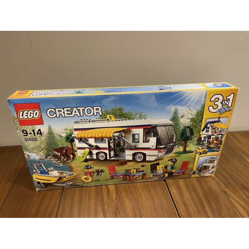 樂高 LEGO 31052 Creator系列 度假露營車 全新未拆(有盒損)