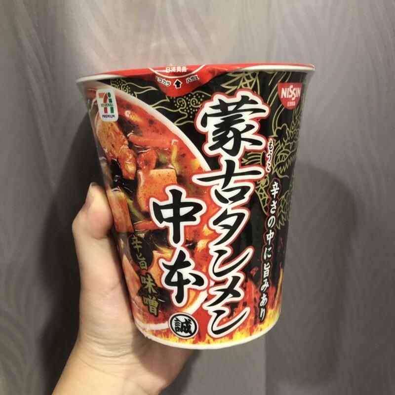 現貨-日本711限定🇯🇵蒙古泡麵辛旨味噌
