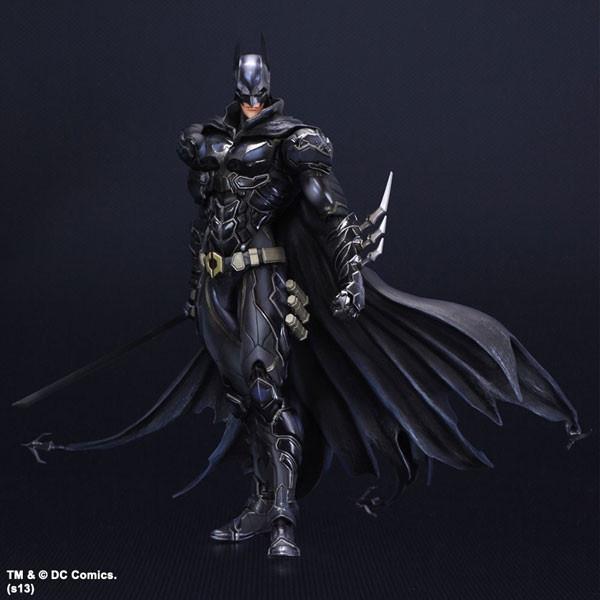 【高品質 24小時發貨】玩具動漫 Play Arts改 蝙蝠俠 Batman藍黑限定版 超可動盒裝手辦