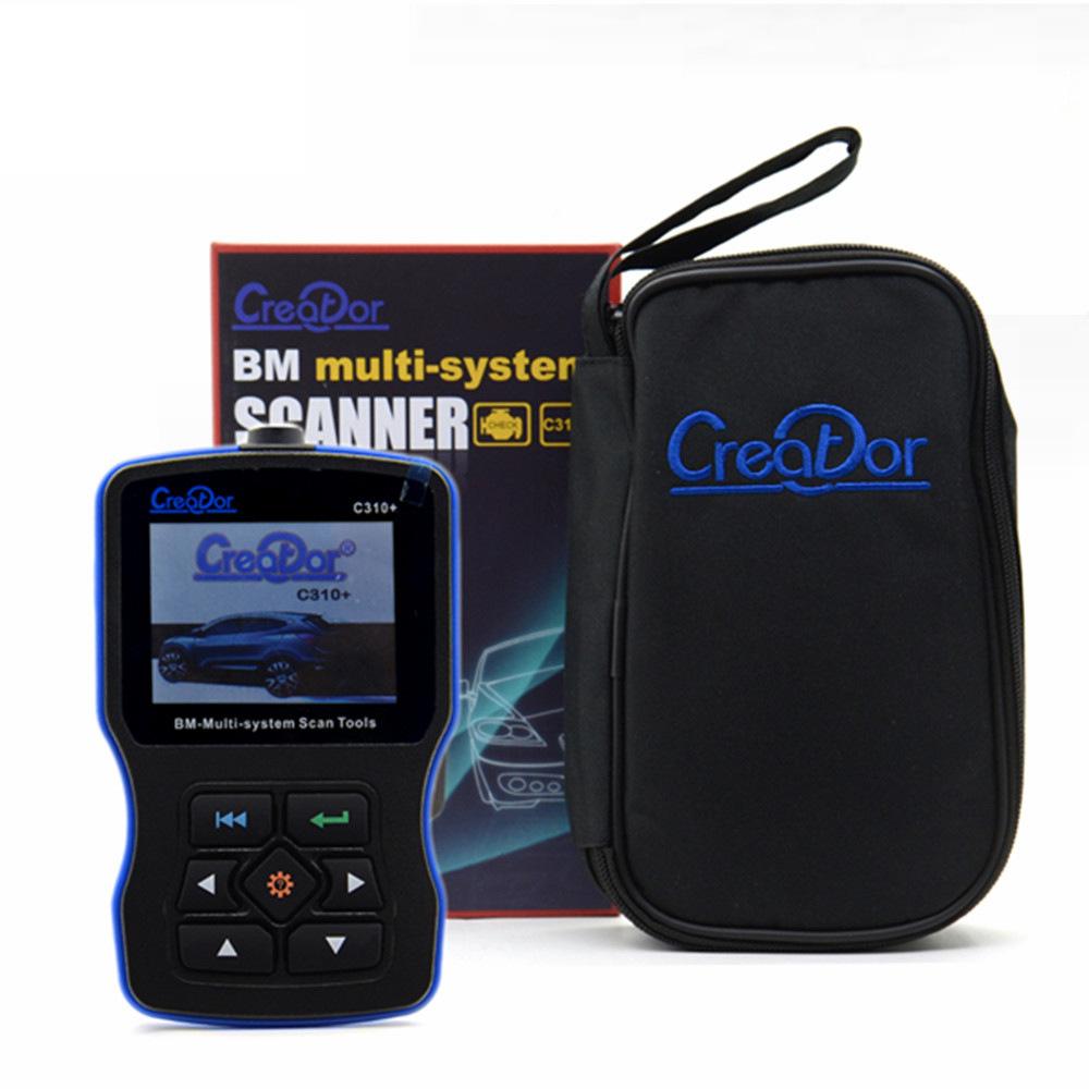 原裝正版 Creator BMW C310+ OBD scanner 汽車讀碼卡