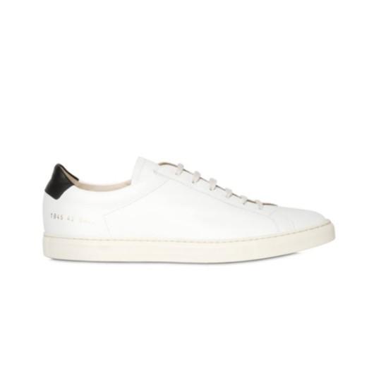 COMMON PROJECTS ACHILLES RETRO NAPPA黑後跟 真皮 休閒鞋