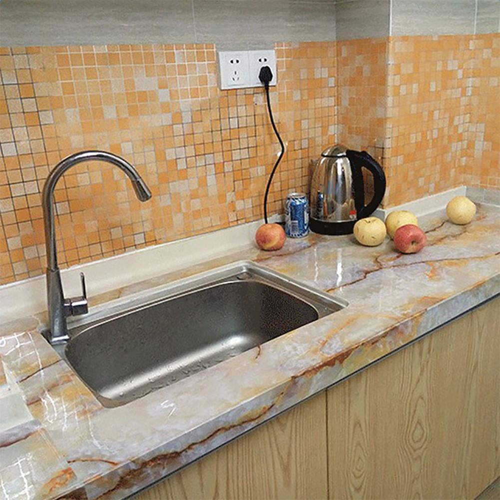防水馬賽克自粘式廚房耐熱牆紙家居裝飾 蝦皮購物