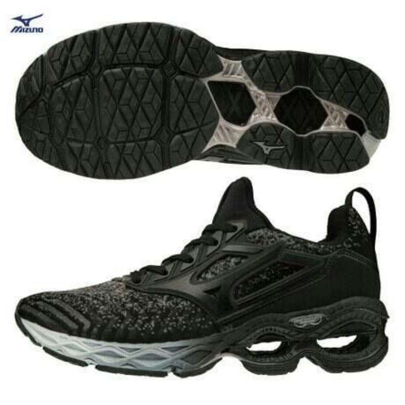 美津濃 mizuno WAVE CREATION WAVEKNIT 慢跑鞋 J1GD203309 23.5-25.5