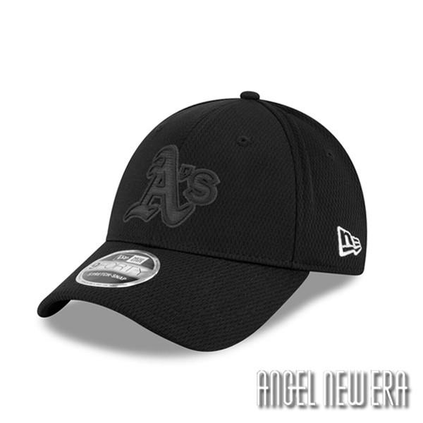 【New Era】MLB 2019 球員周 奧克蘭 運動家 全黑 老帽 9FORTY【ANGEL NEW ERA】