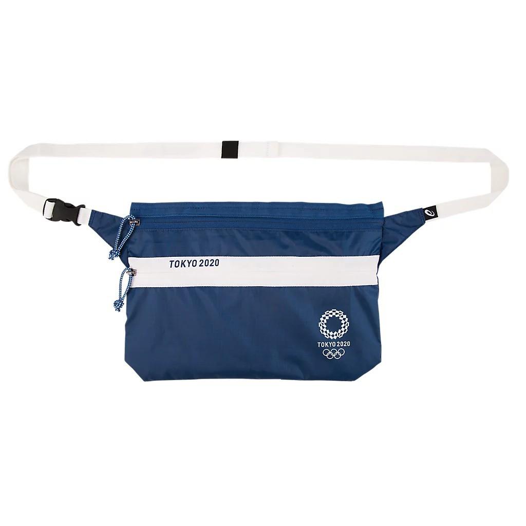 東京奧運 隨身腰包小斜背包 藍色 東奧 紀念品週邊官方商品 現貨商品-中秋節優惠