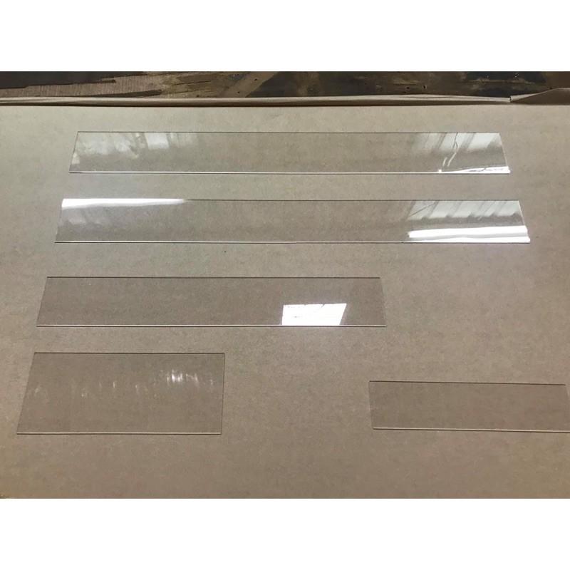 【福利品】 2mm透明壓克力板 多尺寸壓克力長條