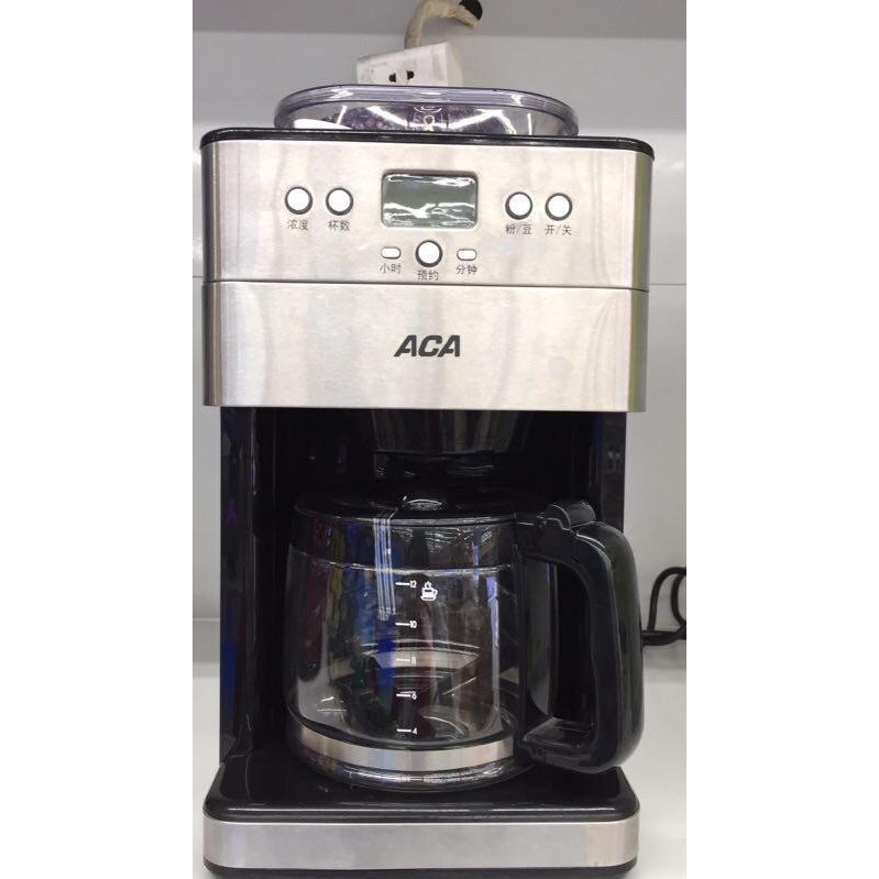 ACA M18A咖啡機過濾網過濾紙玻璃壺咖啡機配件