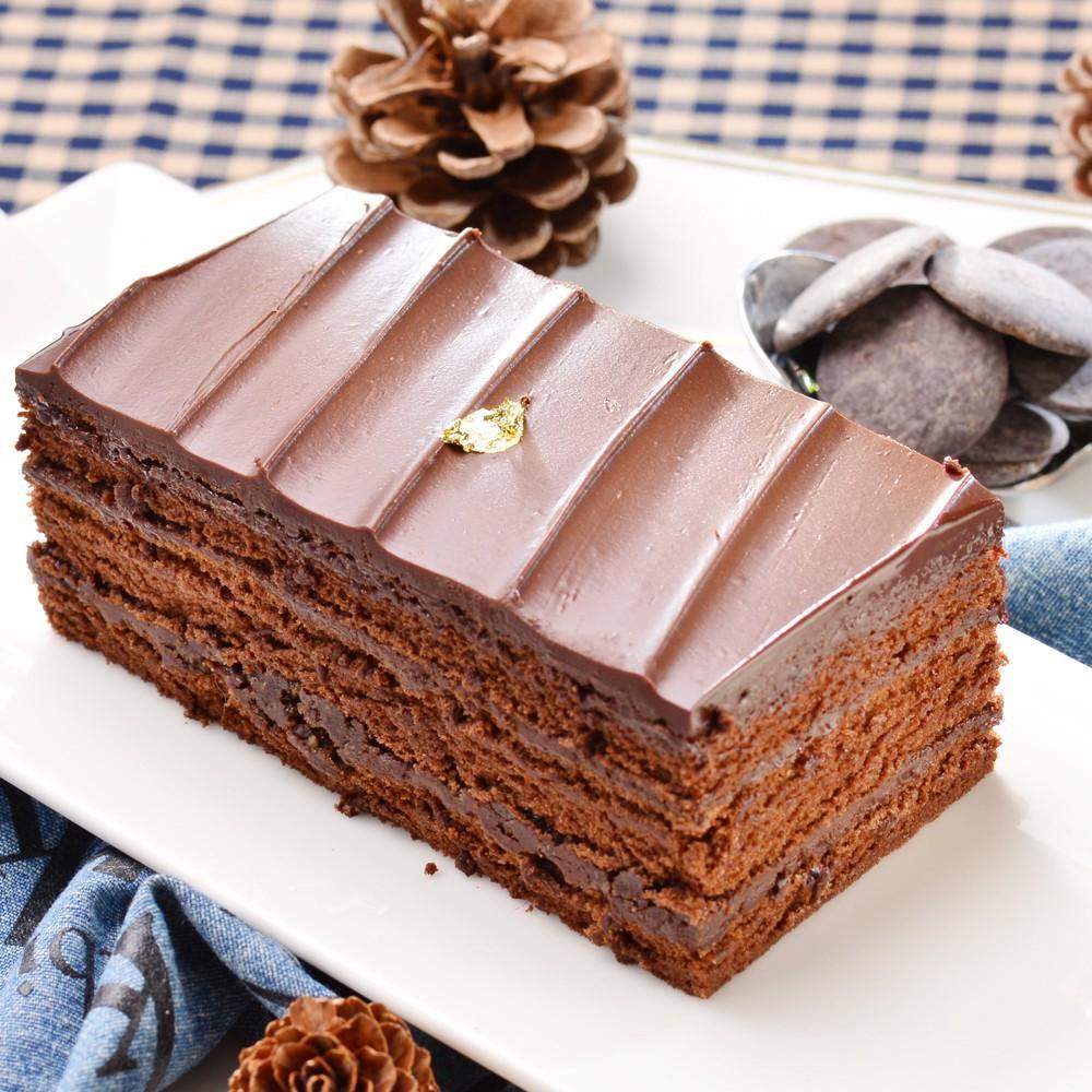 艾波索 巧克力黑金磚12公分 蘋果日報蛋糕評比冠軍 News金探號節目熱情推薦(1/2/4入)廠商直送