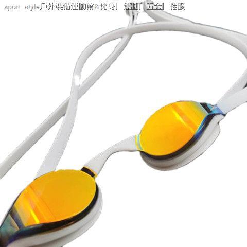 🔥臺灣熱銷🔥 speedo 泳鏡 泳鏡 蛙鏡  Speedo泳鏡男專業競速訓練比賽炫彩鍍膜防水防霧高