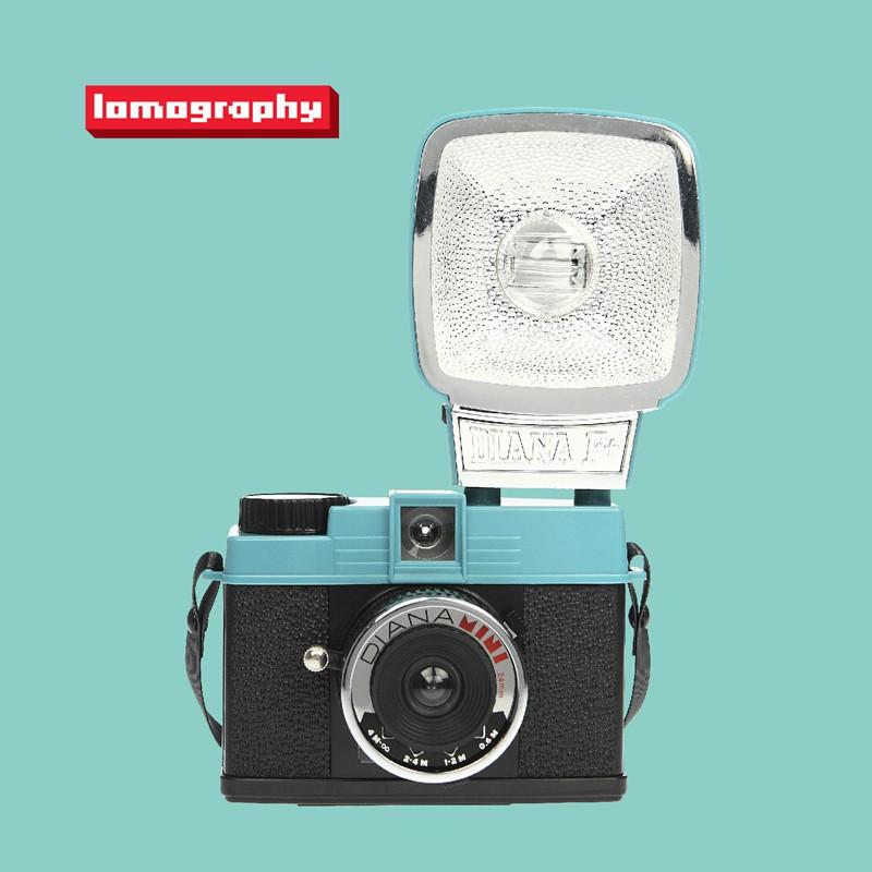 Diana Mini 戴安娜 135 膠片相機連閃光燈 Lomography