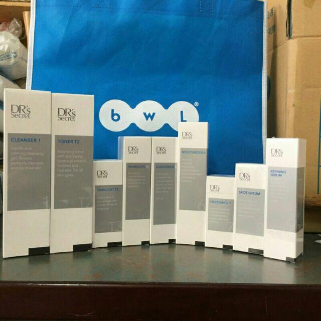 全美 bwl 皙之密  全美世界 基礎入會套組1到5號加奇麗纖