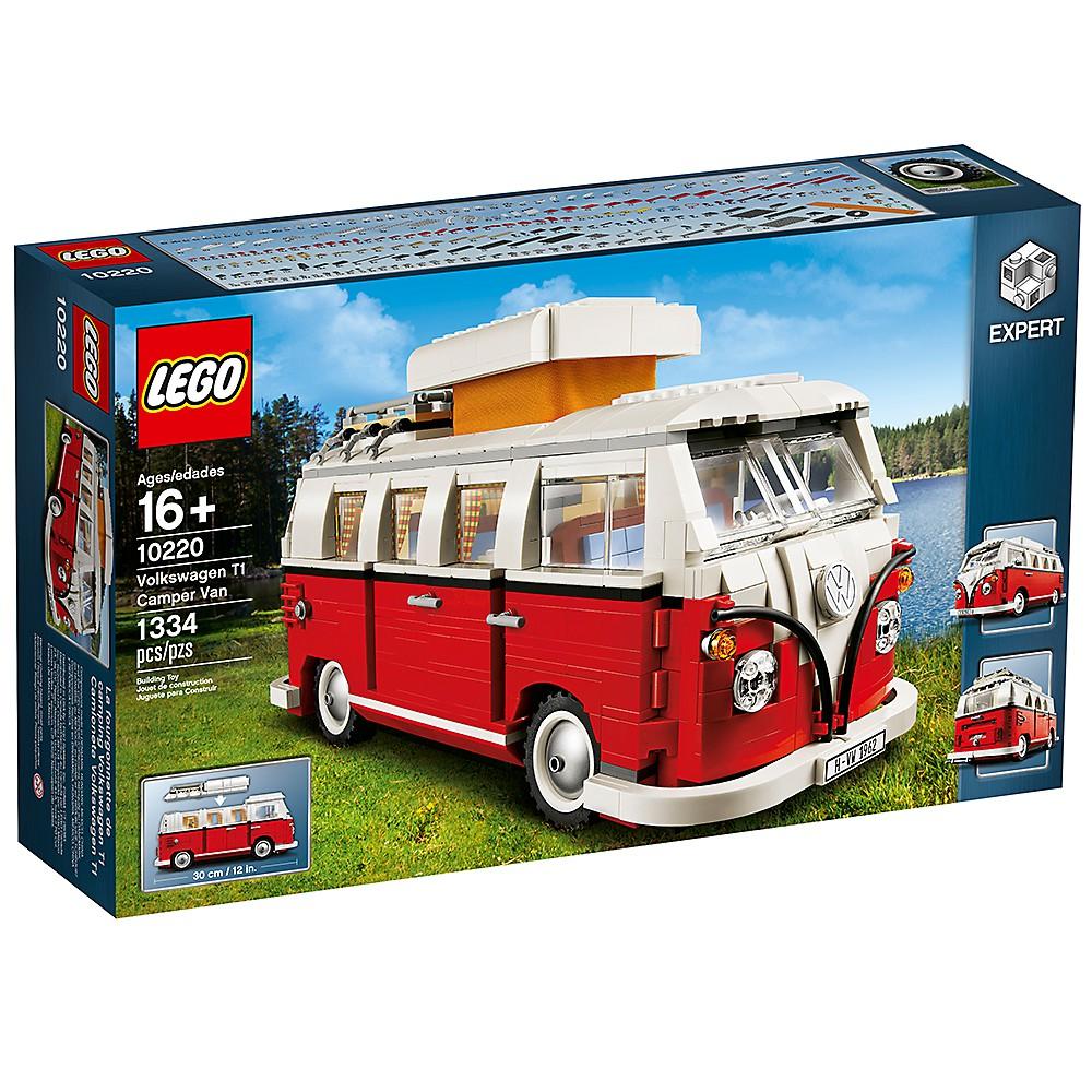 LEGO 10220 福斯露營車 雕塑系列 【必買站】樂高盒組
