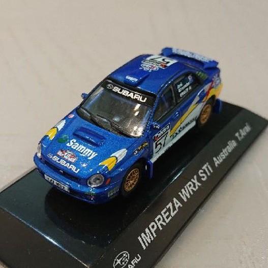 日本代購 CM's 1/64 Subaru impreza wrx sti