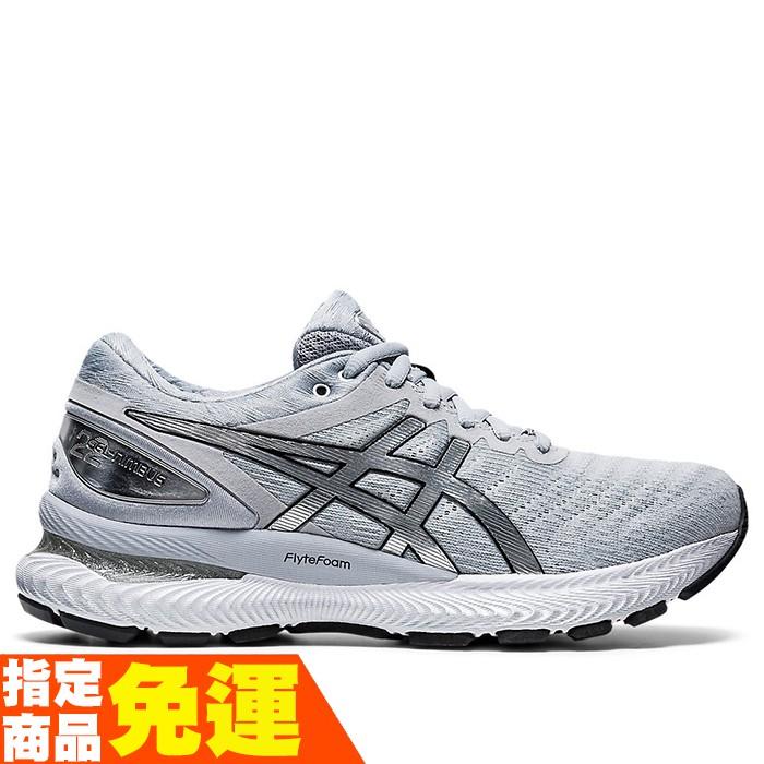 ASICS GEL-NIMBUS 22 PLATINUM 緩衝型 女慢跑鞋 1012A664-020 贈1襪 20FW