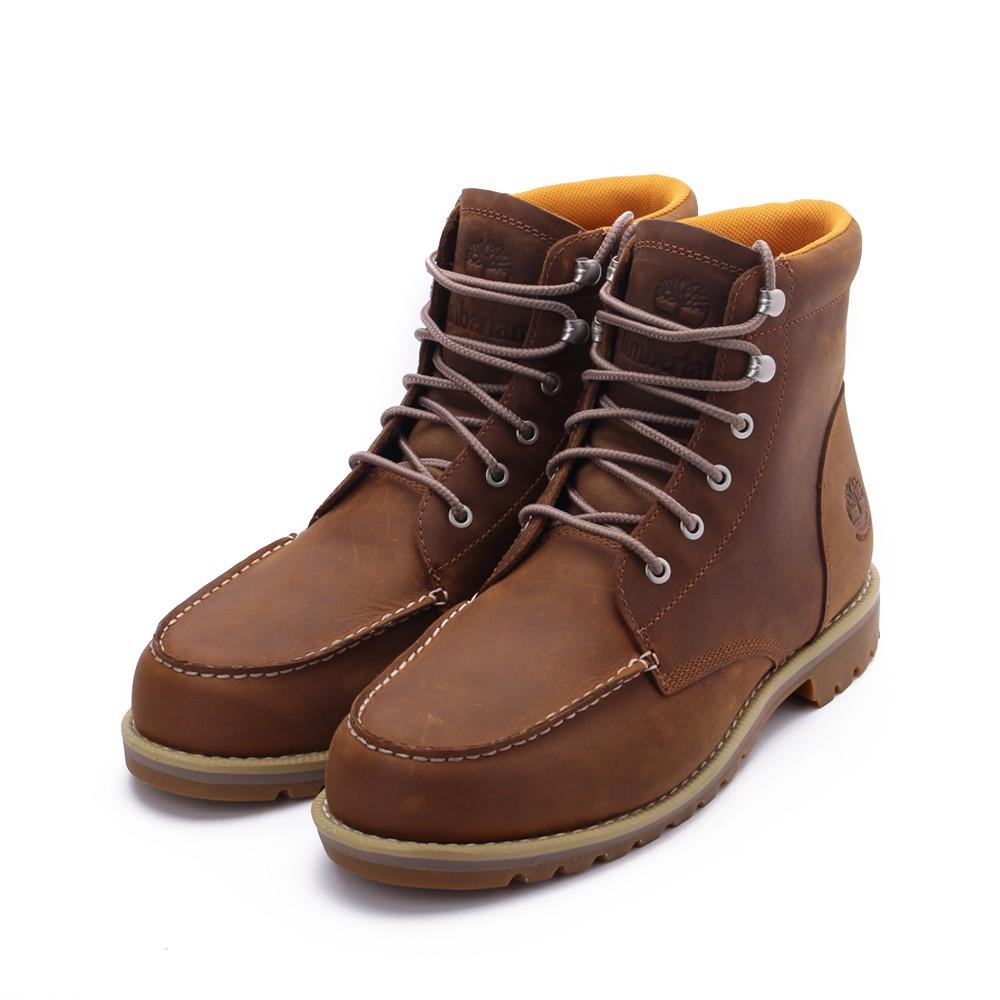 TIMBERLAND 全粒面皮革高筒靴 紅咖* A2EDR 男鞋