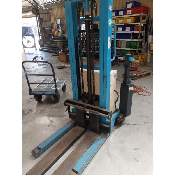 自走式電動堆高機(二手)(荷重1000KG)拖板車/托板車/升降台車/堆高機-倉儲貨運搬運使用