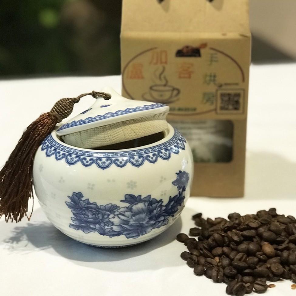 【盧加客手烘房】翡翠莊園藝妓 咖啡豆160g  禮盒