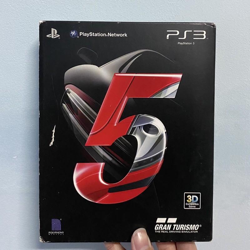 【二手】PS3 頭文字D GT5浪漫超跑 GTA5  2K13
