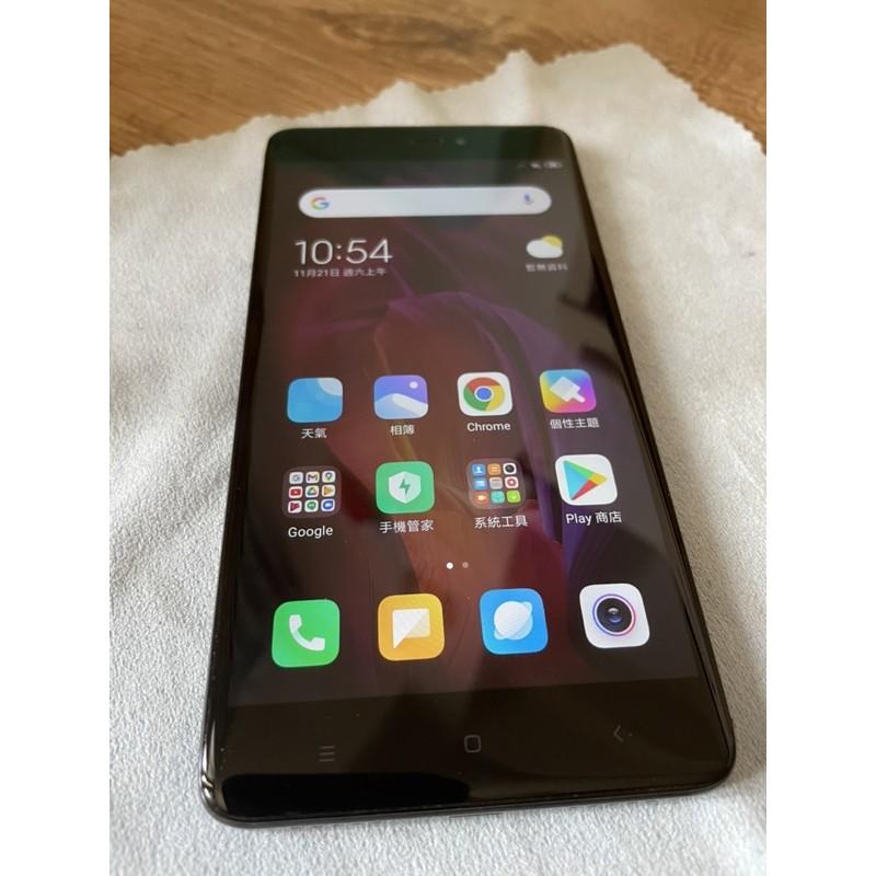 小米 紅米 Note 4X 黑色 二手 備用機