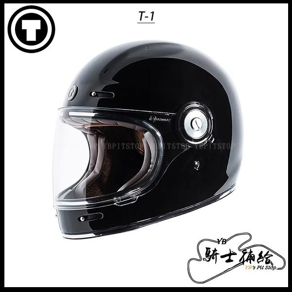 ⚠YB騎士補給⚠ TORC T-1 Black 亮黑 樂高帽 復古 全罩 安全帽 透氣 經典 美國 T1