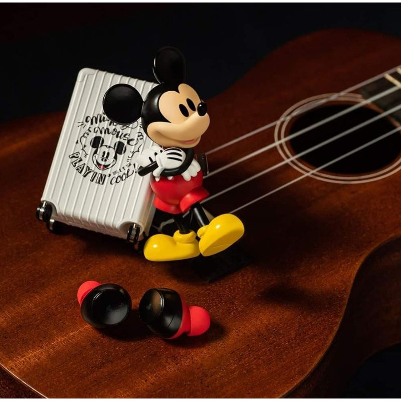 《7-11x預購》Infothink米奇系列趣淘真無線藍芽耳機 米奇耳機 行李箱耳機 米奇藍芽耳機