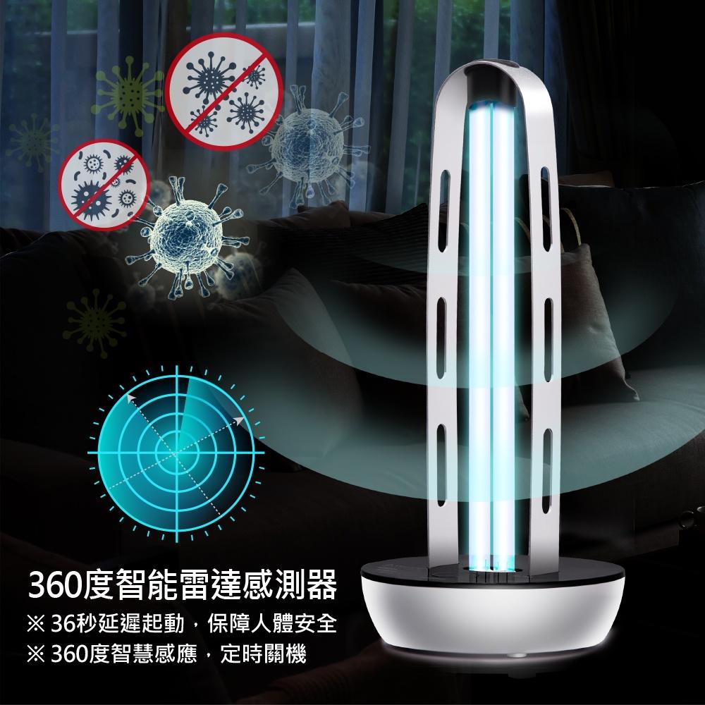 現貨免運 刷卡分期 THOMSON 紫外線殺菌燈 TM-SAZ01LU 雷達波安全防護 UV殺菌 滅菌 消毒燈 防疫消毒