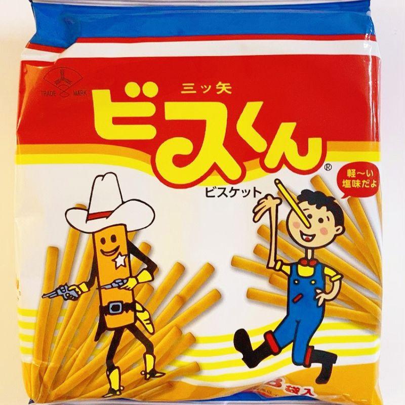 [FIFI SHOP]日本mitsuya seika三矢 香酥棒/ 牛奶棒/牛奶香酥棒(8包入/ 袋)